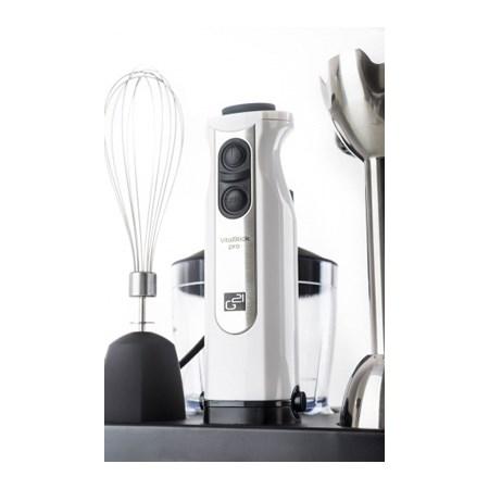 Mixér tyčový G21 VITALSTICK 1000W WHITE multifunkční s food procesorem
