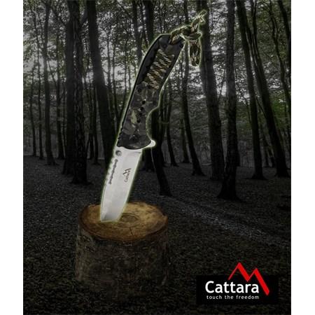 Nůž kapesní zavírací CATTARA CANA s pojistkou 21,6 cm