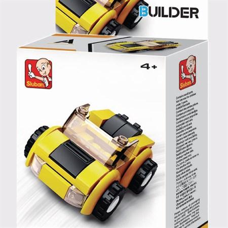 Stavebnice SLUBAN BUILDER 4 VOZY M38-B0597