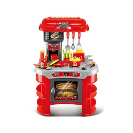 Kuchyňka dětská G21 MALÝ KUCHAŘ červená