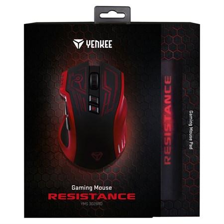 PC myš YENKEE YMS 3028RD RESISTANCE