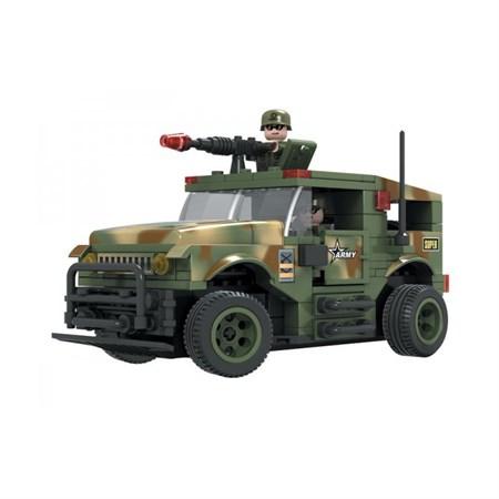 Stavebnice RC MODEL DROMADER vojenské auto