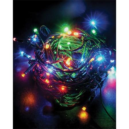 Řetěz vánoční 120 LED 20m 1V02-M vícebarevný