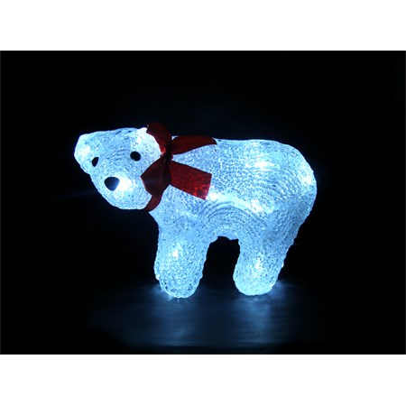 Svítidlo - dekorace Medvěd IP44 denní světlo,16LED