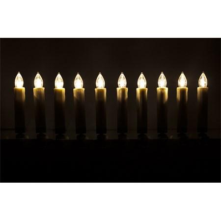 Svíčky vánoční 10 LED CANDLE  RETLUX RXL 45