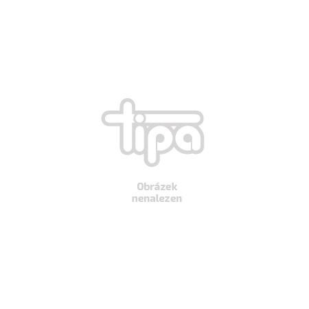 Vánoční dekorace 1LED keramická koule - hvězda