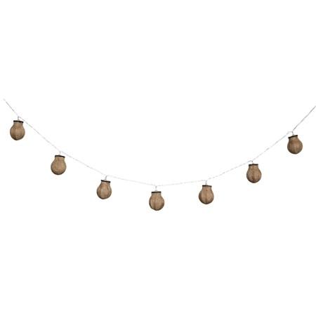 Řetěz vánoční 10 LED 1.5m žárovky HQLEDSLBULB