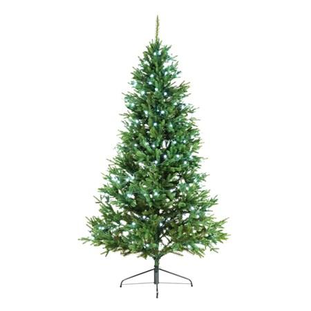 Řetěz vánoční  10m, studená bílá, IP44,  cherry, 8 funkcí, RETLUX RXL164
