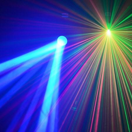 Efekt Světelný set BeamZ 3v1
