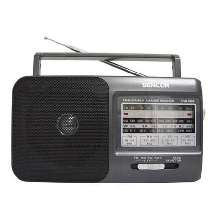 Radiopřijímač SENCOR SRD 206