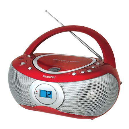 Radiopřijímač s CD SENCOR SPT 226 R