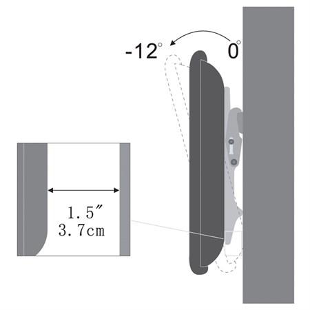 Držák na LED/LCD/Plazma TV SHO 2041 SLIM LCD 40-65'' STELL