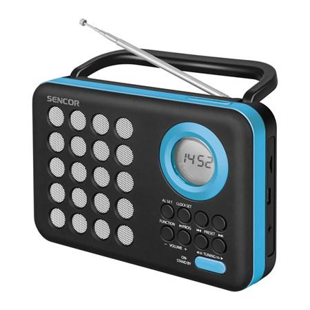Radiopřijímač SENCOR SRD 220 BBU s USB/MP3
