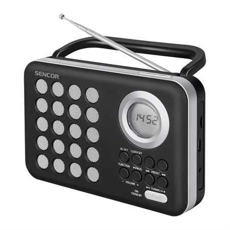 Rádio SENCOR SRD 220 BS s USB/MP3