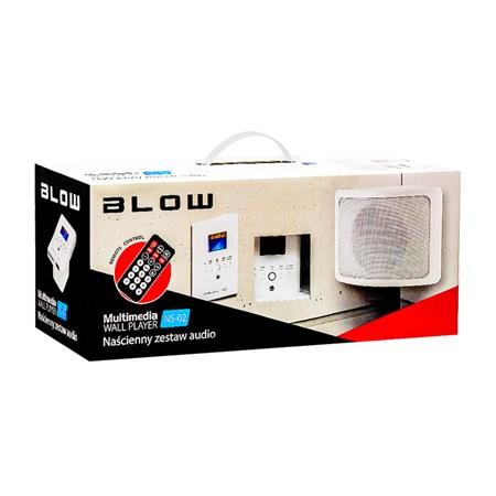 Audio systém nástěnný BLOW NS-02, dálkové ovládání