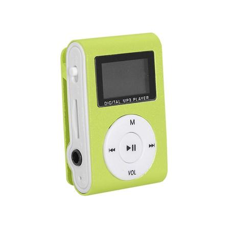 Přehrávač MP3 SETTY LCD zelená