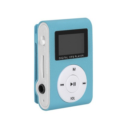 Přehrávač MP3 SETTY LCD modrá