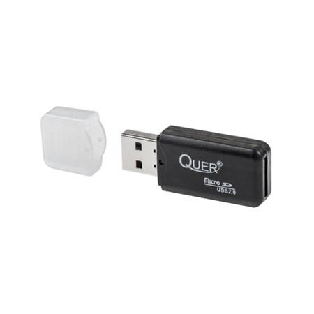 Čtečka paměťových karet micro SDHC QUER KOM0562