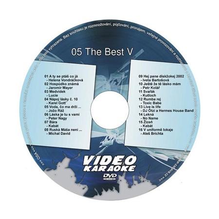 Karaoke DVD THE BEST V