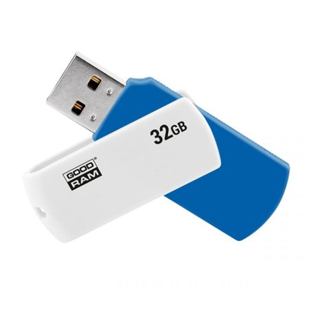 Flash disk Goodram USB 2.0 32GB bílý a modrý