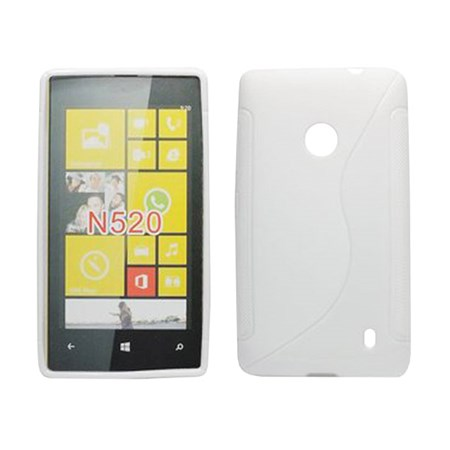 ForCell Zadní Kryt Lux S White pro Nokia Lumia 520