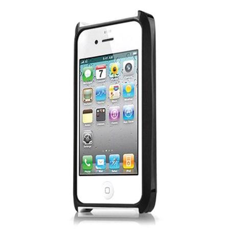 Itskins Fusion Carbon Core - iPhone 4/4S - černo/bílé