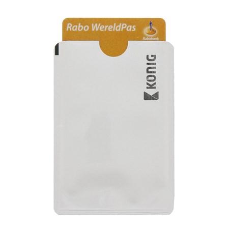 Pouzdro pro kreditní karty 2ks KÖNIG CSRFIDCVR100
