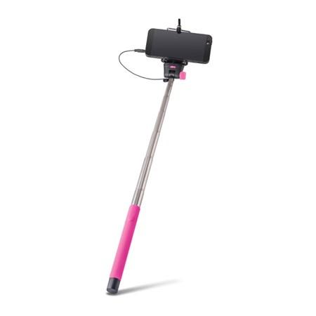 Selfie tyč se spouští FOREVER MP-400 růžová