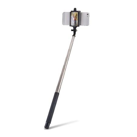 Selfie tyč se zrcátkem FOREVER MP-310 černá