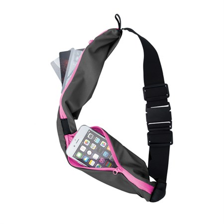 Pouzdro na telefon sportovní DOUBLE růžová