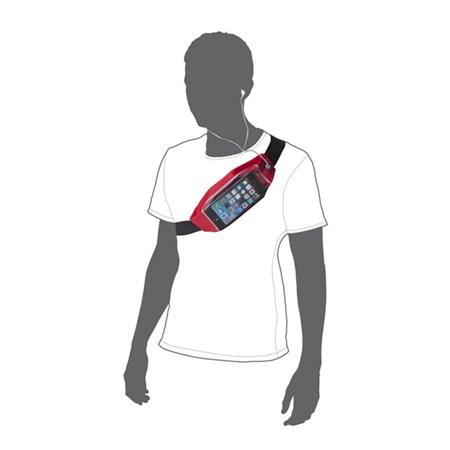 Pouzdro na telefon sportovní 4.7'' WINDOW růžová