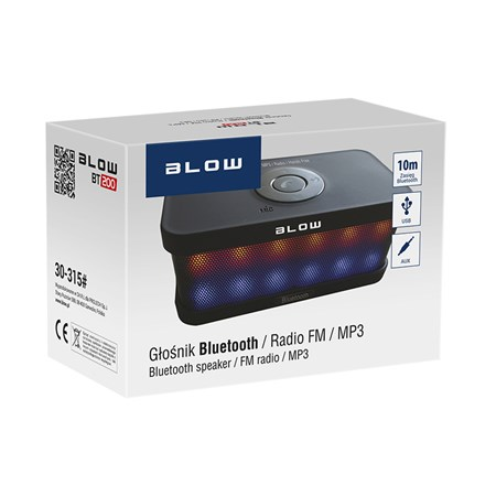 Reproduktor přenosný BLOW BT200 BLUETOOTH, HandsFree, FM, SD, AUX-IN