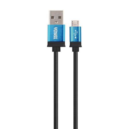 Kabel USB - Micro USB, modrý 2m YENKEE YCU 202 BBE