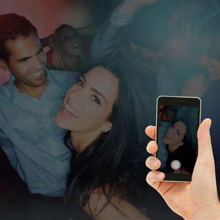 Blesk přídavný Loooqs, k mobilním telefonům
