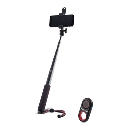 Selfie tyč BLUETOOTH FOREVER PMP-03 premium set + dálkový ovladač
