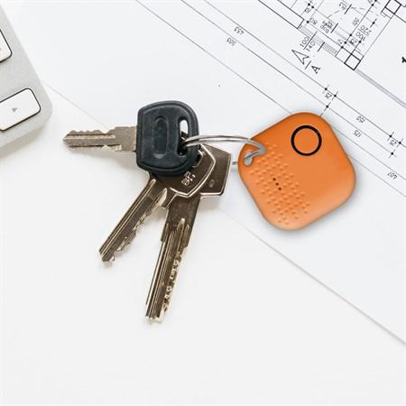 Bluetooth hledač klíčů s aplikaci v češtině - Najdu.to - černý