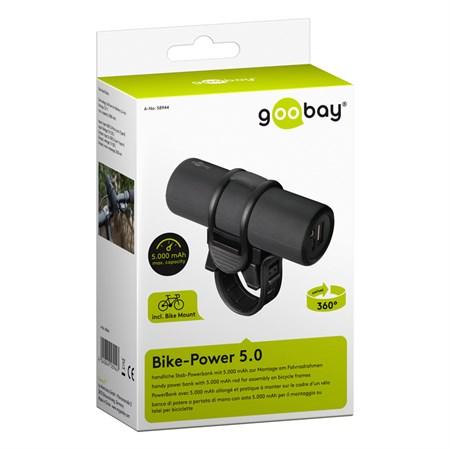 PowerBank 5000mAh GOOBAY na kolo Bike-Power 5.0