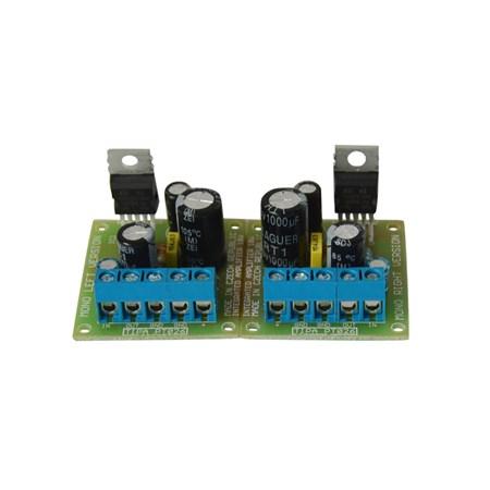Stavebnice TIPA PT026S Integrovaný zesilovač 2x10W