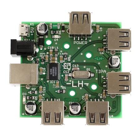 Stavebnice TIPA PT074 Multifunkční USB 2.0 HUB