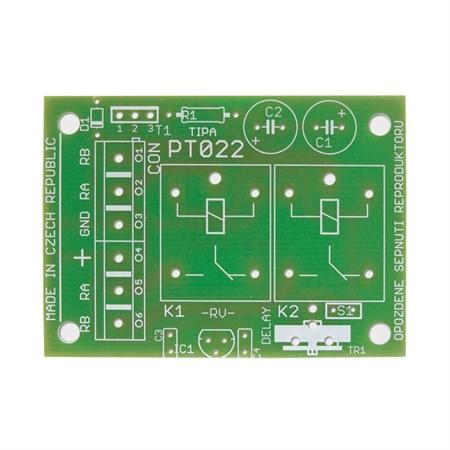 Plošný spoj TIPA PT022 Opožděné sepnutí reproduktorů
