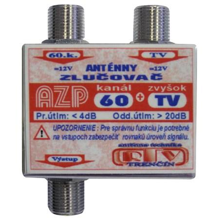 Anténní slučovač AZP60+TV  F-F