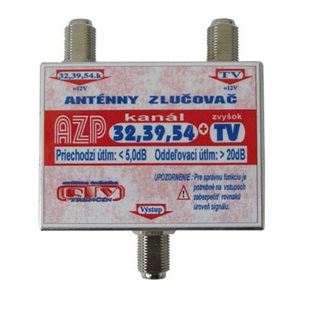 Anténní slučovač AZP32,39,54+TV  F-F