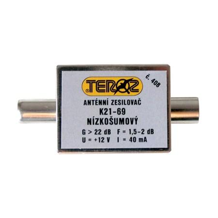 Anténní zesilovač UHF 22dB IEC Teroz