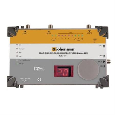 Anténní filtr (equalizer) programovatelný LTE Johansson 6504