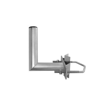 Anténní držák 20 na stožár s vinklem průměr 35mm výška 12cm