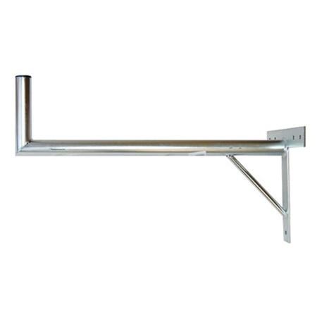Anténní držák 100 na zeď se vzpěrou průměr 42mm výška 16cm