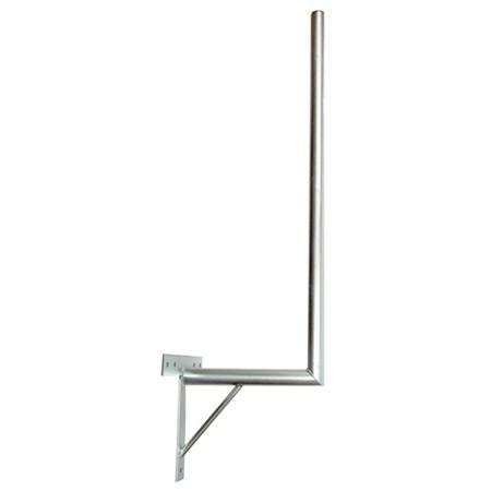 Anténní držák 35 na zeď se vzpěrou průměr 42mm výška 100cm žár.
