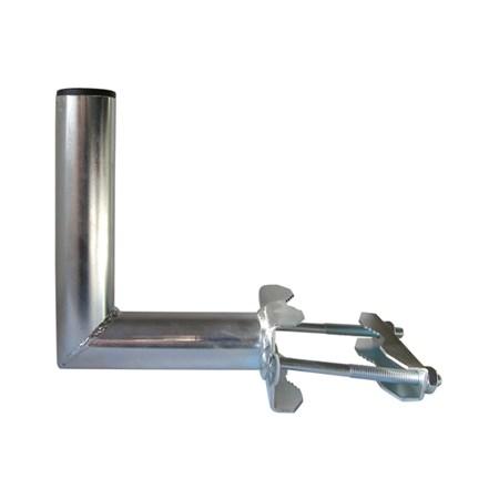 Anténní držák 15 na stožár s třmenem průměr 42mm výška 11,5cm