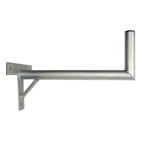 Anténní držák 60 na zeď se vzpěrou průměr 42mm výška 16cm žár.