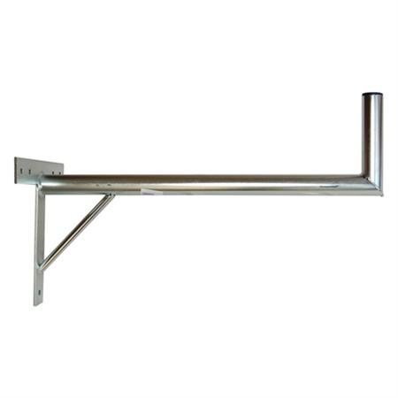 Anténní držák 70 na zeď se vzpěrou průměr 42mm výška 16cm